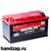 Аккумулятор автомобильный прямая полярность +- Bolk 60 а/ч 500А