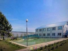 An agrarian complex with greenhouses for sale 63 km from Moscow