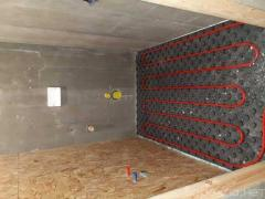 Installation of heating, electricians, plumbing, ventilation in Moscow