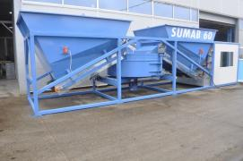 Mobile Concrete Plant SUMAB K-30 (30 m3 / h) Sweden