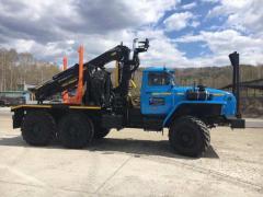 Продажа новых лесовозов Урал 55571 с манипулятором